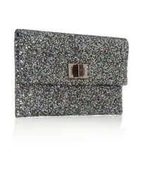 Anya Hindmarch - Gray Valorie Clutch - Lyst