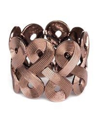 BaubleBar | Metallic Swirl Cuff | Lyst