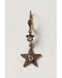 Anthropologie - Metallic Sea Star Drops - Lyst