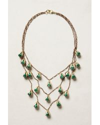 Anthropologie | Green Elemental Necklace | Lyst