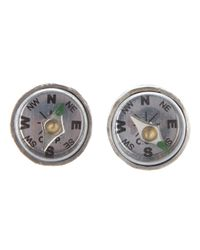 Carol Christian Poell | Metallic Compass Earrings | Lyst