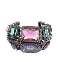 Lanvin | Multicolor Multi Gemstone Cuff | Lyst