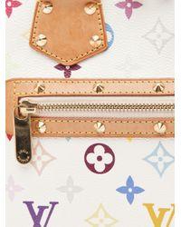 Louis Vuitton White Alma Monogram Bag