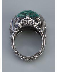 Stephen Webster | Metallic 'les Dents De Le Mer' Crystal Haze Filigree Ring | Lyst
