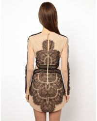 Three Floor Natural Mademoiselle Dress