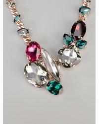 Anton Heunis | Metallic Swarovski Crystal Necklace | Lyst