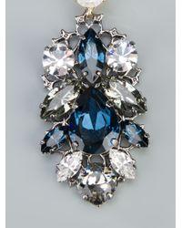 Anton Heunis - Metallic Swarovski Crystal Earrings - Lyst