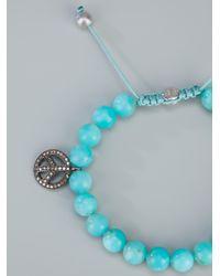 Ebba Brahe - Blue Amazonite Bead Bracelet - Lyst