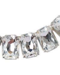 Dries Van Noten White Jewel Necklace