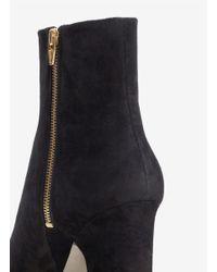 Alexander Wang Black Sunniva Block-heel Suede Ankle Boots