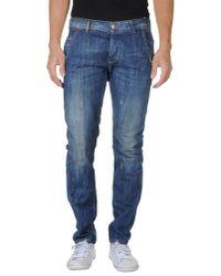 Dondup | Blue Denim Pants for Men | Lyst