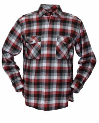 Double Two - Red King Size Long Sleeve Cotton Check Shirt for Men - Lyst