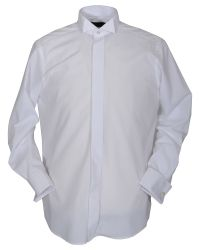 Double Two | White Plain Wing Collar Dress Shirt for Men | Lyst
