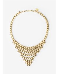 Ela Stone | Metallic Hilla Multi-chain Necklace | Lyst