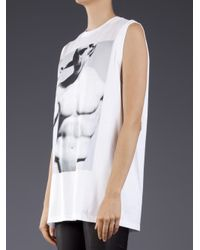 Givenchy White Crew Neck T-shirt