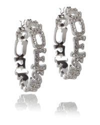 Guess | Metallic G Logo Earring | Lyst