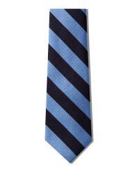 Howick Blue Club Stripe Tie for men