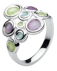 Kit Heath | Metallic Kit Heath Honeycomb Gem Cluster Ring | Lyst