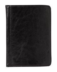 Linea Black Leather Kindle Case for men
