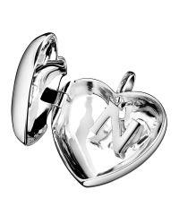 Links of London | Metallic Love Note Heart Locket Silver | Lyst