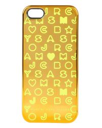 Marc By Marc Jacobs Gold Metallic Stardust Iphone Case