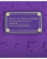 Marc By Marc Jacobs Purple Star Embossed Tablet Case