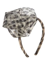 Muhlbauer - Multicolor Leopard Alice Band - Lyst