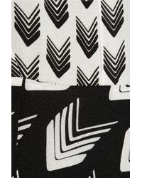 Rag & Bone White Gayatri Printed Silk Dress