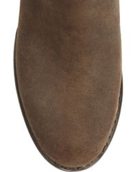 Rag & Bone Brown Durham Distressed Leather Ankle Boots