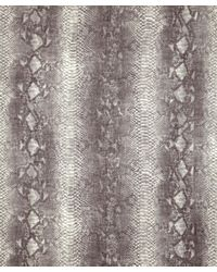 Stella McCartney Gray Grey Python Print Woolblend Scarf