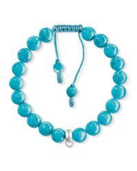 Thomas Sabo | Blue Charm Club Turquoise Bracelet | Lyst