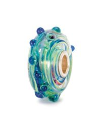 Trollbeads - Blue Whitecap Glass Charm Bead - Lyst