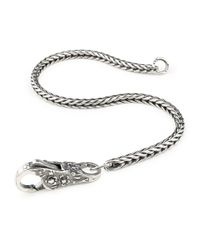 Trollbeads | Gray Lace Invitation Bracelet | Lyst