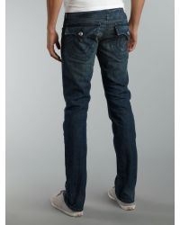 True Religion Blue Zach Jeans for men