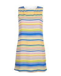 Almost Famous Blue Stripy Tunic