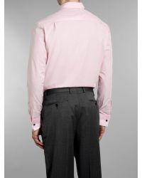 Aquascutum Pink Piers Classic Poplin Shirt for men