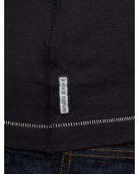 Armani Jeans Blue Logo Tshirt for men