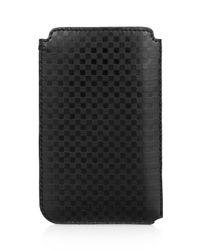 Ben Sherman - Black Leather Iphone Case for Men - Lyst