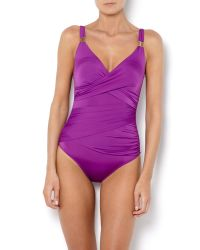 Biba | Purple Goddess Swimsuit | Lyst