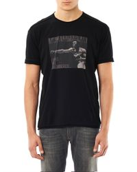 Dolce & Gabbana Black Classic V-neck T-shirt for men