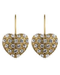 Dyrberg/Kern | Metallic Oratammy Shiny Gold Earrings | Lyst