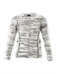 Isabel Marant | White Imperia Boiledwool Jacket | Lyst