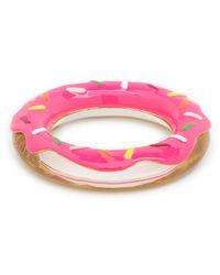 kate spade new york - Pink Darcel Donut Bangle - Lyst