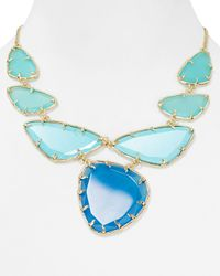 Kendra Scott Blue Marisol Necklace 18