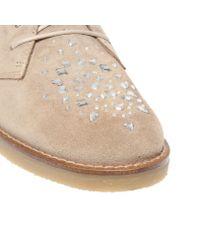 Kurt Geiger Brown Desert Boots for men