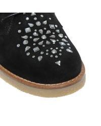 Kurt Geiger Black Desert Boots for men