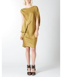 Label Lab Natural Drape Cocoon Dress