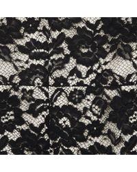L.K.Bennett Black Lavinie Lace Detail Shift Dress