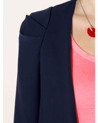 Mary Portas Blue Throw On Jacket