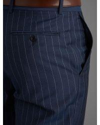 Paul Costelloe - Carlanstown Blue Wide Stripe Suit for Men - Lyst